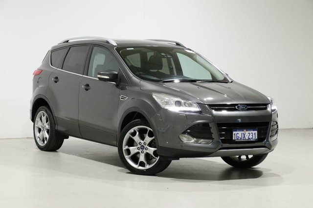 Used Ford Kuga TF MK 2 Titanium (AWD), 2016 Ford Kuga TF MK 2 Titanium (AWD) Grey 6 Speed Automatic Wagon