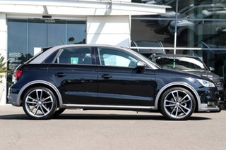 2018 Audi A1 8X MY18 Sportback S Tronic Black 7 Speed Sports Automatic Dual Clutch Hatchback.