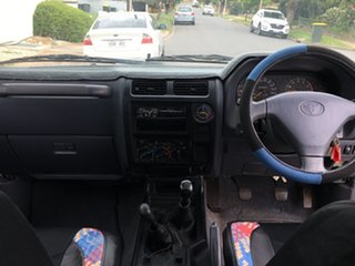 1998 Toyota Landcruiser Prado RZJ95R RV White 5 Speed Manual Wagon