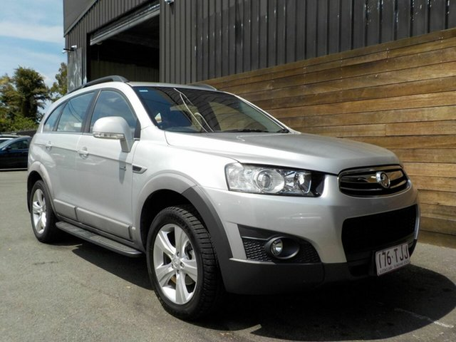 Used Holden Captiva CG Series II MY12 7 AWD CX, 2013 Holden Captiva CG Series II MY12 7 AWD CX Silver 6 Speed Sports Automatic Wagon