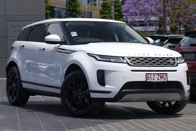 Demo Land Rover Range Rover Evoque L551 MY20.25 SE Newstead, 2019 Land Rover Range Rover Evoque L551 MY20.25 SE Fuji White 9 Speed Sports Automatic Wagon