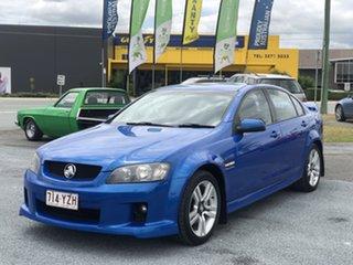 2008 Holden Commodore VE MY09 SV6 Blue 6 Speed Manual Sedan.