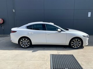 2020 Mazda 3 BP2SH6 X20 SKYACTIV-MT Astina Snowflake White 6 Speed Manual Sedan.