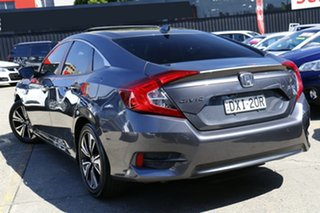 2018 Honda Civic 10th Gen MY18 VTi-LX Grey 1 Speed Constant Variable Sedan.