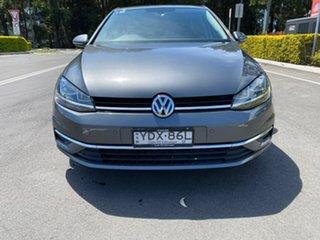 2017 Volkswagen Golf 7.5 MY17 110TSI DSG Comfortline Grey 7 Speed Sports Automatic Dual Clutch.