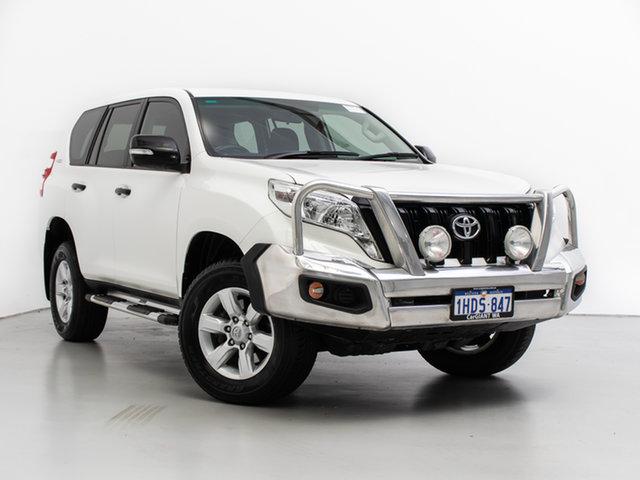 Used Toyota Landcruiser Prado GDJ150R MY16 GX (4x4), 2017 Toyota Landcruiser Prado GDJ150R MY16 GX (4x4) White 6 Speed Automatic Wagon