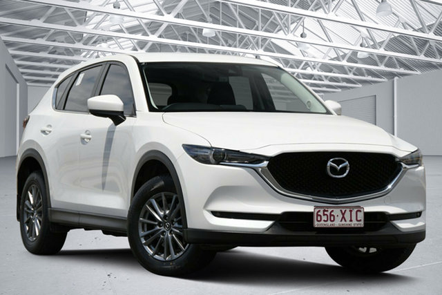 Used Mazda CX-5 MY17 Maxx Sport (4x4) Eagle Farm, 2017 Mazda CX-5 MY17 Maxx Sport (4x4) White 6 Speed Automatic Wagon