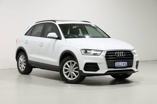 Used Audi Q3 8U MY17 2.0 TDI Quattro (110kW), 2017 Audi Q3 8U MY17 2.0 TDI Quattro (110kW) White 7 Speed Auto Dual Clutch Wagon