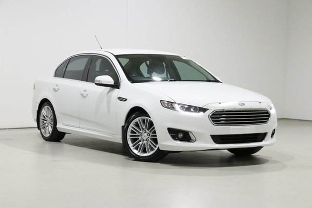 Used Ford Falcon FG X G6E, 2015 Ford Falcon FG X G6E White 6 Speed Automatic Sedan
