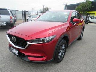 2019 Mazda CX-5 KF4WLA Maxx SKYACTIV-Drive i-ACTIV AWD Sport Red 6 Speed Sports Automatic Wagon.
