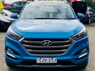 2016 Hyundai Tucson TLE Highlander AWD Blue 6 Speed Sports Automatic Wagon