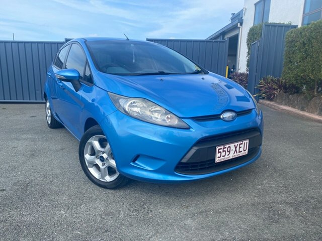 Used Ford Fiesta WS LX, 2009 Ford Fiesta WS LX Blue 4 Speed Automatic Hatchback
