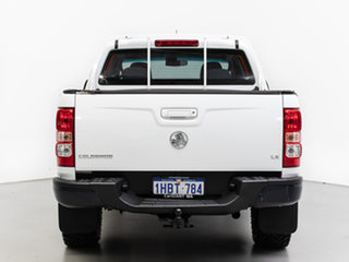 2013 Holden Colorado RG MY14 LT (4x4) White 6 Speed Manual Crew Cab Pickup