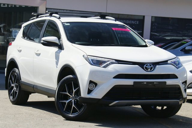 Used Toyota RAV4 ZSA42R GXL 2WD Homebush, 2017 Toyota RAV4 ZSA42R GXL 2WD White 7 Speed Constant Variable Wagon