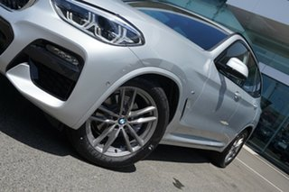 2020 BMW X3 G01 xDrive20d M Sport Glacier Silver 8 Speed Automatic Steptronic Wagon.