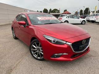 2016 Mazda 3 BN5438 SP25 SKYACTIV-Drive Astina Red 6 Speed Sports Automatic Hatchback.