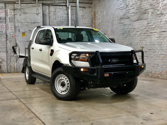 Used Ford Ranger PX MkII XL Plus Mile End South, 2016 Ford Ranger PX MkII XL Plus White 6 Speed Sports Automatic Cab Chassis