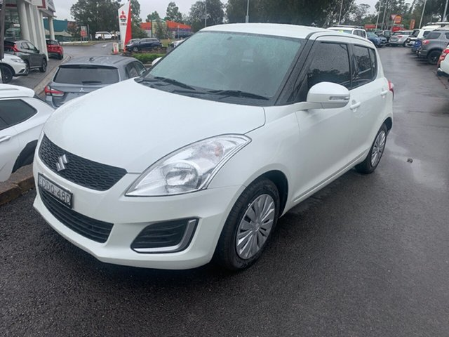 Used Suzuki Swift FZ MY15 GL, 2016 Suzuki Swift FZ MY15 GL White 4 Speed Automatic Hatchback