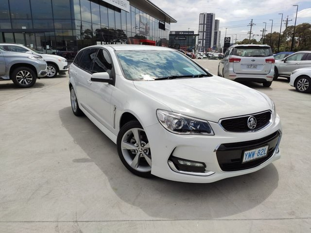Used Holden Commodore VF II MY16 SV6 Liverpool, 2016 Holden Commodore VF II MY16 SV6 White 6 Speed Sports Automatic Sedan