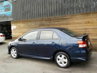 2007 Toyota Yaris NCP93R YRX Blue 4 Speed Automatic Sedan