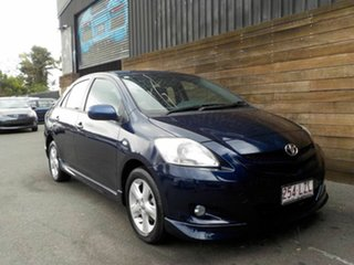 2007 Toyota Yaris NCP93R YRX Blue 4 Speed Automatic Sedan.