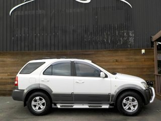 2005 Kia Sorento BL MY05 EX White 5 Speed Sports Automatic Wagon.