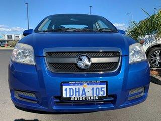 2010 Holden Barina TK MY10 Blue 4 Speed Automatic Sedan