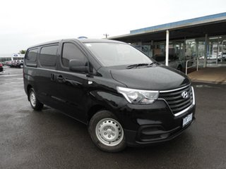 Hyundai iLOAD Black 5 Speed Automatic Van.