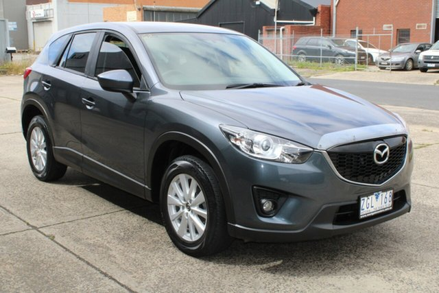 Used Mazda CX-5 Maxx Sport (4x4) West Footscray, 2012 Mazda CX-5 Maxx Sport (4x4) Grey 6 Speed Automatic Wagon