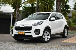 2017 Kia Sportage QL MY18 Si AWD White 6 Speed Sports Automatic Wagon.