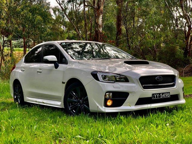Used Subaru WRX V1 MY15 Premium AWD, 2015 Subaru WRX V1 MY15 Premium AWD White 6 Speed Manual Sedan