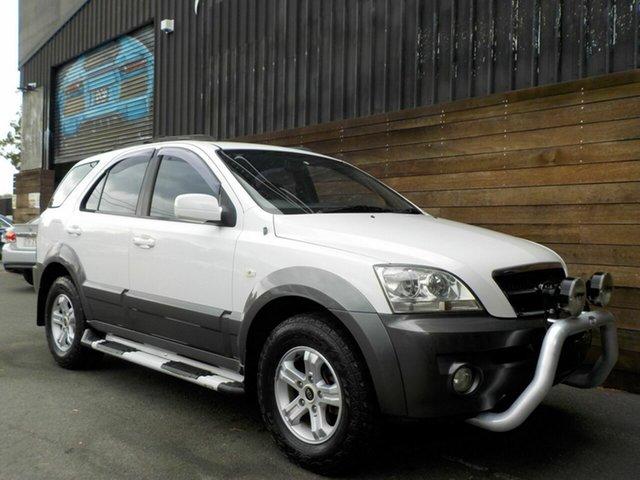 Used Kia Sorento BL MY05 EX, 2005 Kia Sorento BL MY05 EX White 5 Speed Sports Automatic Wagon