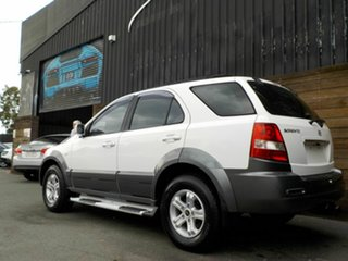 2005 Kia Sorento BL MY05 EX White 5 Speed Sports Automatic Wagon
