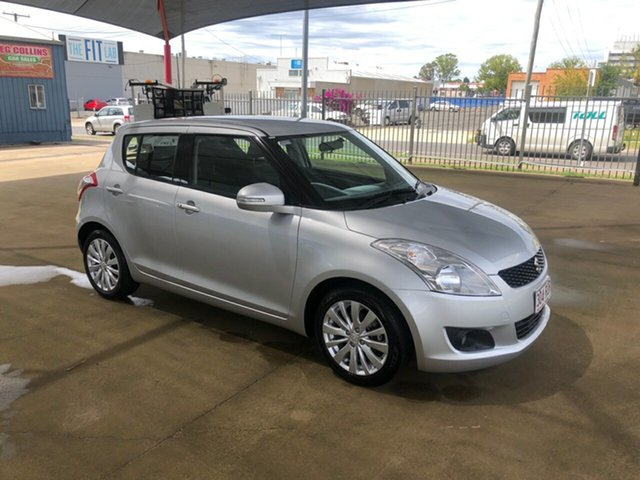 Used Suzuki Swift FZ GLX, 2011 Suzuki Swift FZ GLX Silver 4 Speed Automatic Hatchback