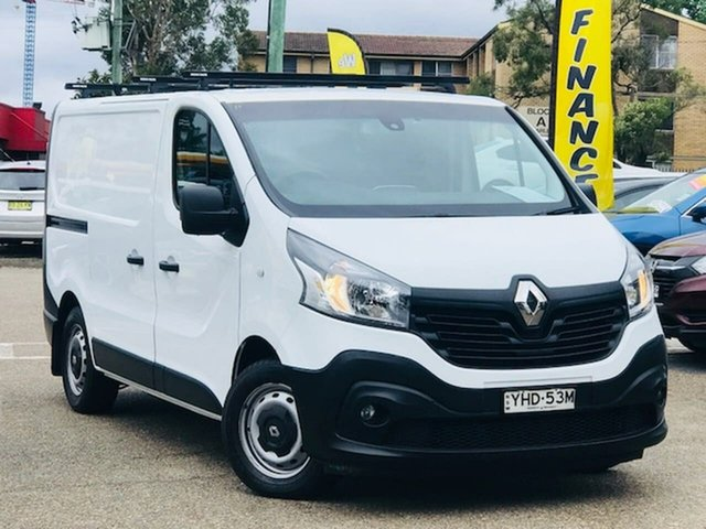 Used Renault Trafic X82 103KW Low Roof SWB Liverpool, 2017 Renault Trafic X82 103KW Low Roof SWB White 6 Speed Manual Van