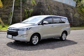 2017 Toyota Innova Silver Automatic.