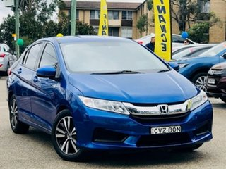 2014 Honda City GM MY14 VTi Blue 1 Speed Constant Variable Sedan.