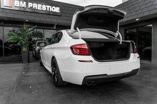 2013 BMW 5 Series F10 MY1112 520d Steptronic White 8 Speed Sports Automatic Sedan