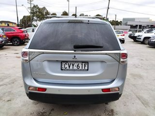2013 Mitsubishi Outlander ZJ MY13 LS 4WD Silver, Chrome 6 Speed Constant Variable Wagon