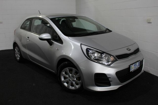 Used Kia Rio UB MY16 S Glenorchy, 2016 Kia Rio UB MY16 S Silver 4 Speed Sports Automatic Hatchback