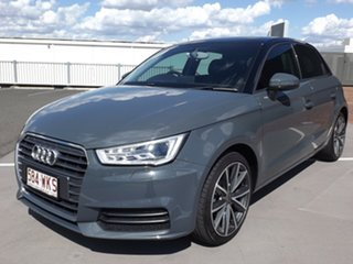 2015 Audi A1 8X MY16 Sportback S Tronic Grey 7 Speed Sports Automatic Dual Clutch Hatchback