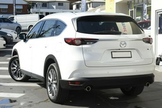 2020 Mazda CX-8 KG4W2A GT SKYACTIV-Drive i-ACTIV AWD White 6 Speed Sports Automatic Wagon.