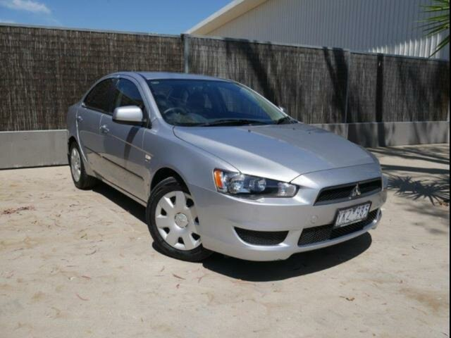 Used Mitsubishi Lancer CJ MY11 ES, 2011 Mitsubishi Lancer CJ MY11 ES Silver 6 Speed CVT Auto Sequential Sedan