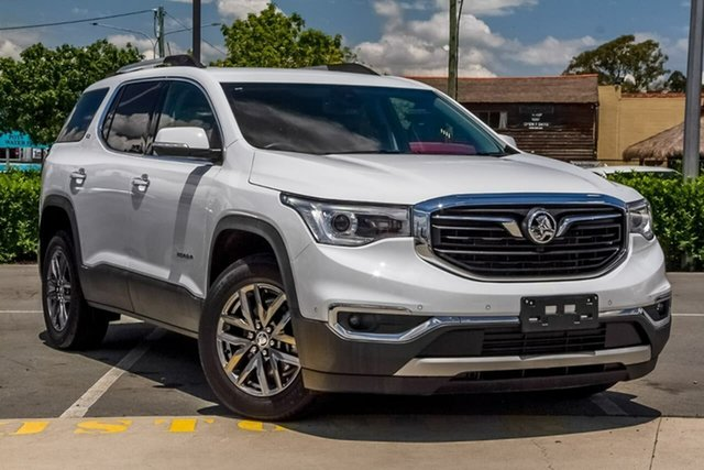 Used Holden Acadia AC MY19 LTZ 2WD Aspley, 2019 Holden Acadia AC MY19 LTZ 2WD White 9 Speed Sports Automatic Wagon