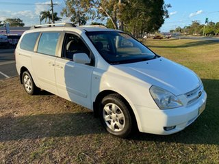 2008 Kia Grand Carnival VQ MY07 EX White 5 Speed Sports Automatic Wagon