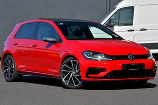 2020 Volkswagen Golf 7.5 MY20 R DSG 4MOTION Red 7 Speed Sports Automatic Dual Clutch Hatchback