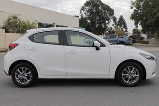 2021 Mazda 2 DJ2HAA G15 SKYACTIV-Drive Pure Snowflake White Pearl 6 Speed Sports Automatic Hatchback.