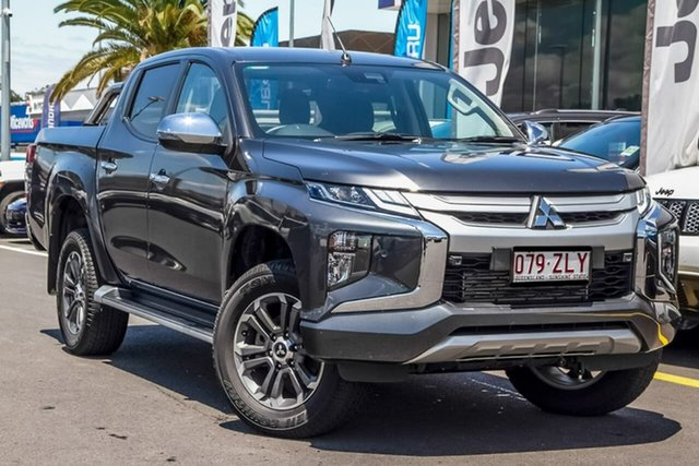 Used Mitsubishi Triton MR MY19 GLS Double Cab, 2019 Mitsubishi Triton MR MY19 GLS Double Cab Graphite Grey 6 Speed Manual Utility