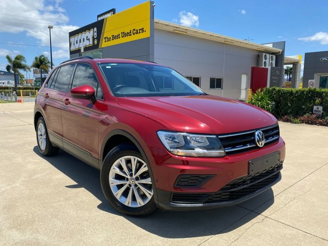 Used Volkswagen Tiguan 5N MY17 110TSI DSG 2WD Trendline, 2017 Volkswagen Tiguan 5N MY17 110TSI DSG 2WD Trendline Red 6 Speed Sports Automatic Dual Clutch