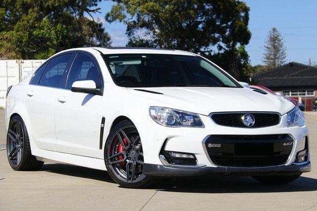 Used Holden Commodore VF II MY16 SS V Redline, 2016 Holden Commodore VF II MY16 SS V Redline White 6 Speed Sports Automatic Sedan